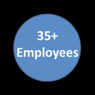 35+ Employees